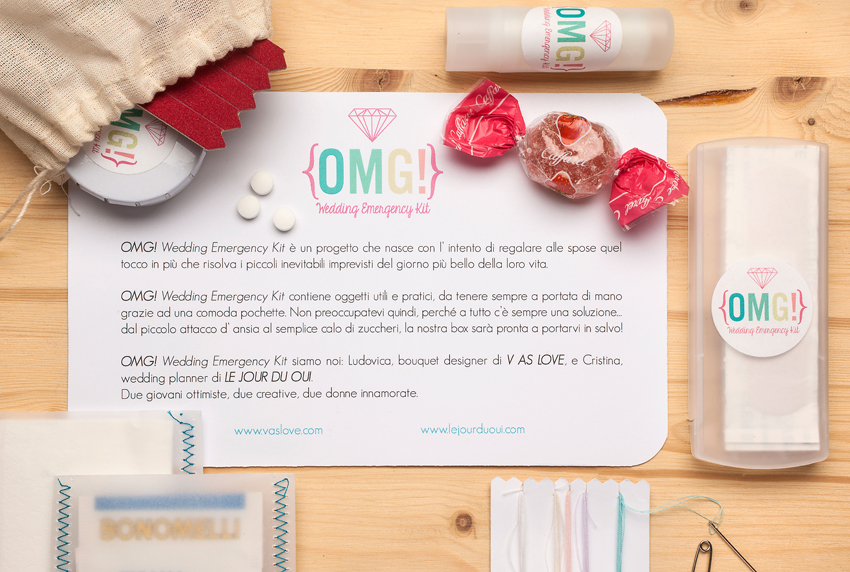 OMG! Wedding Emergency Kit